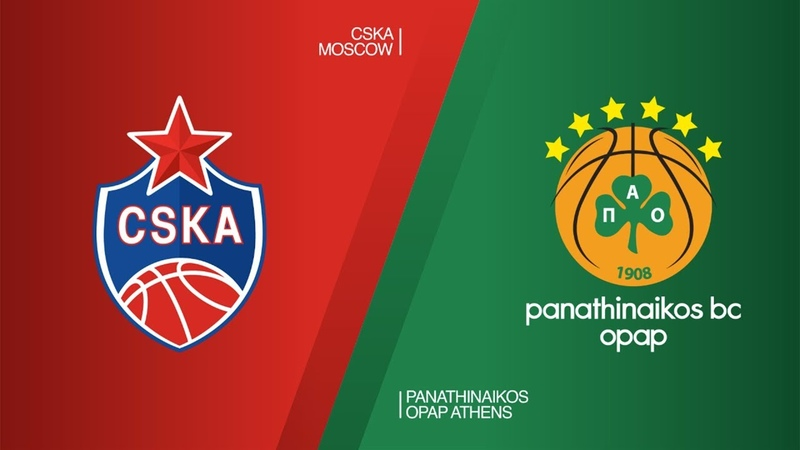 CSKA Moscow - Panathinaikos OPAP Athens Highlights | Turkish Airlines EuroLeague RS Round 26. Евролига. Обзор. ЦСКА - Панатинаикос