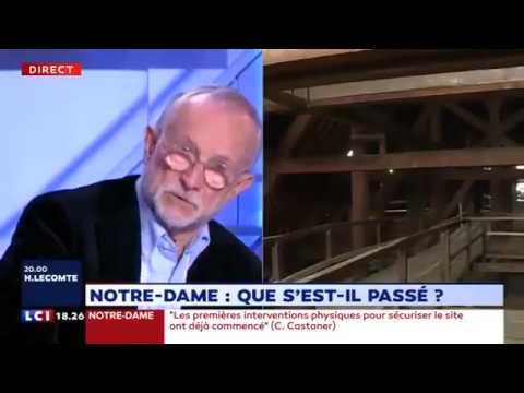 Ex-architecte en chef de Notre-Dame-De-Paris : ça me stupéfie beaucoup...