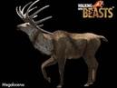 TRILOGY OF LIFE - Walking with Beasts - Irish Elk (Megaloceras)