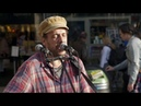 Street Spirit Radiohead cover - Rob Falsini busking in Covent Garden