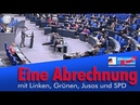 AfD - Eine Abrechnung mit Linken, Grünen, Jusos und SPD