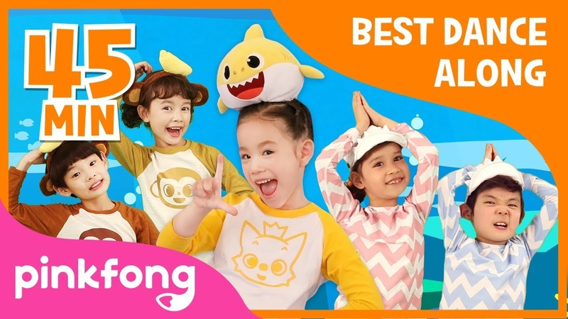 Baby Shark Dance and more   Best Dance Along   Compilation   Pinkfong Songs for Children
