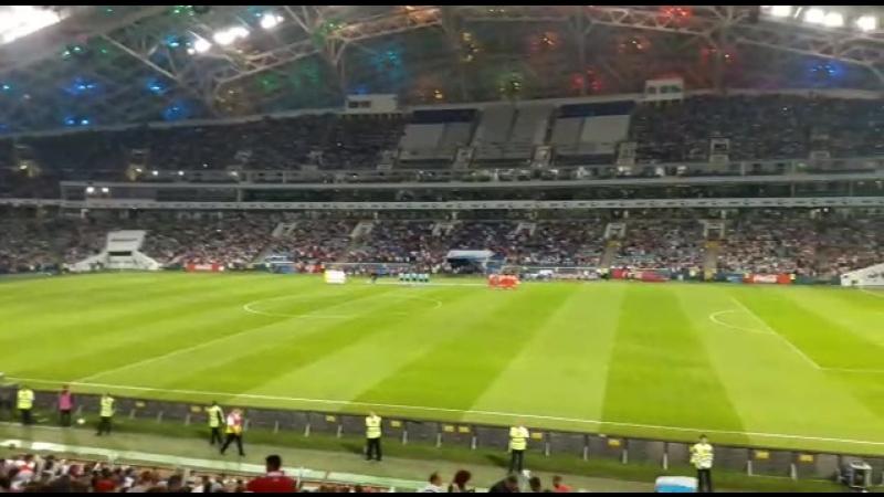 Россия 🇷🇺 2-0 🇹🇷 Турция ! С дедулей на футболе👍🏻