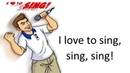 The -ing Word Family Story - I Love To Sing! by Mark D. Pencil
