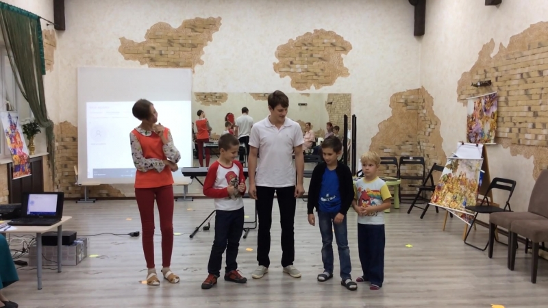 Ритмическая фигура Кирюшина со сценкой, творчество детей. Краснодар 6 -7 октября