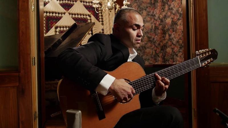 Ortega Guitars Artist Javier Reyes performs Suspiro with his 8-String Classical Guitar