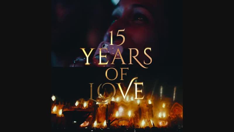 Tomorrowland 2019 - 15 Years of Love