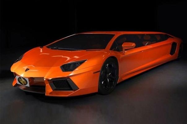 Lamborghini Aventador Stretch Limo Лимузин Lamborghini Aventador Stretch Limo был создан в количестве нескольких единиц. Автомобиль имеет спoртивный дизайн и двери-чайки. При этом машина