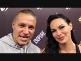 Мария Кузьмина и Павел Баранов на открытии магазина спортивного питания 2scoop