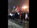 06 12 18 Акция стратегии 6 в поддержку полит заключённых в Екатеринбурге у памятника Татищеву и Дегенину
