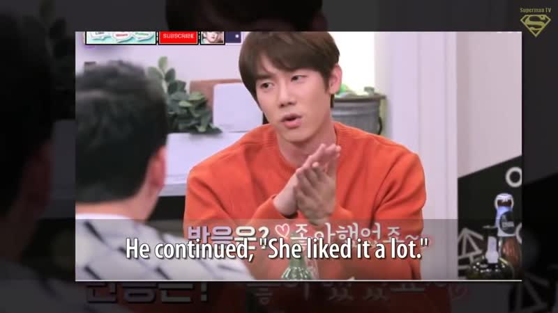 Actor Yoo Yeonseok Said He Once Prepared This One Special Gift for His Girlfriend,That will Make You eng sub