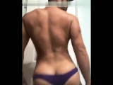 latino big ass twerk for his fan