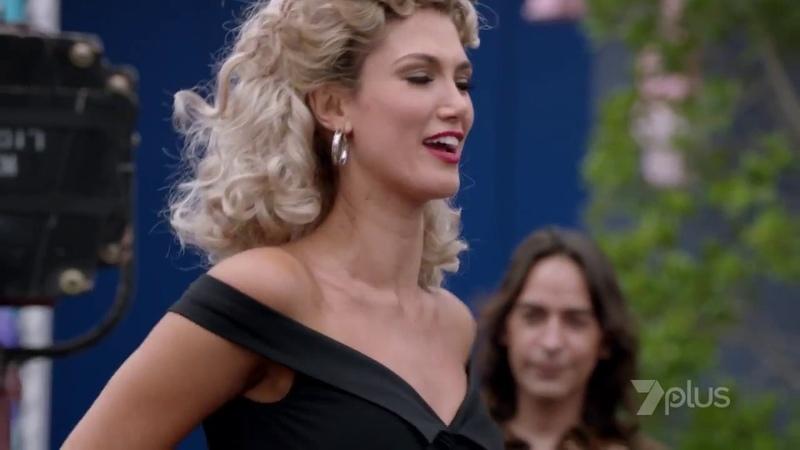 Olivia - 2018 Telemovie - Opening Scene (Youre the one that I want) Delta Goodrem