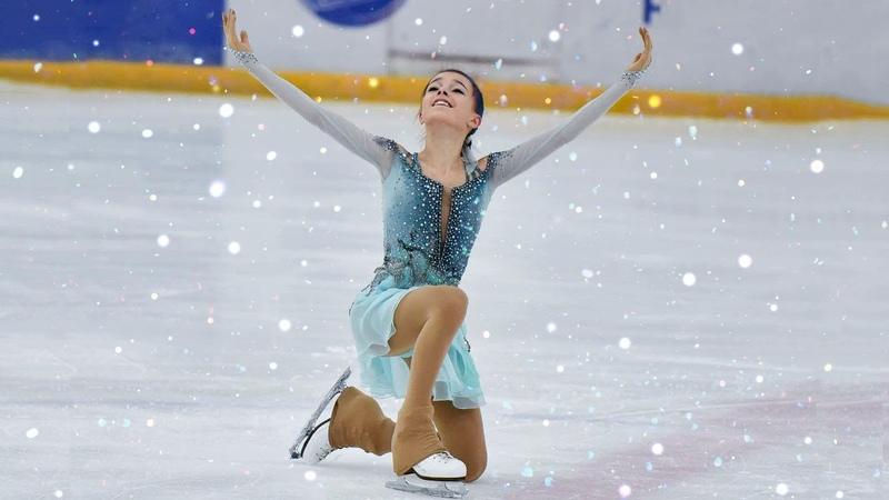 АННА ЩЕРБАКОВА ·٠• КОРОТКАЯ ПРОГРАММА (Winter European Youth Olympic Festival 2019)