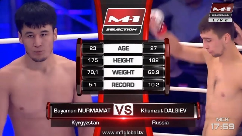 Баяман Нурмамат vs Хамзат Далгиев, M-1 Challenge Battle in Atyrau