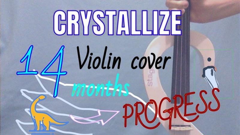 Immortal - Evanescence 💙 (arr by Lindsey Stirling) cover 14 months violin progress