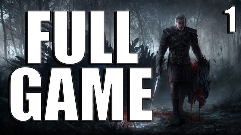 The Witcher 3 Wild Hunt FULL Walkthrough No Commentary Gameplay Part 1 Longplay (PC) [1080p60fps]