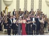 Все участники концерта. Дубравин, Гимн Международной академии музыки Елены Образцовой