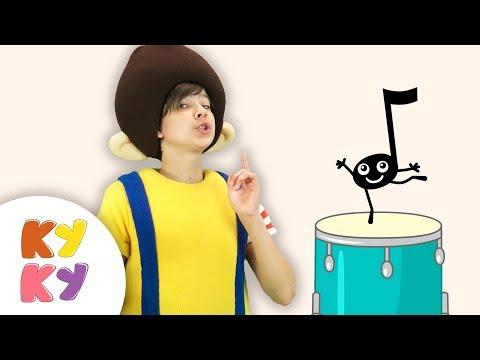 КУКУТИКИ - МУЗЫКАЛЬНЫЕ ИНСТРУМЕНТЫ - ПЕСНЯ для детей малышей
