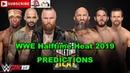 WWE Halftime Heat Aleister Black Ricochet Velveteen Dream vs Tommaso Ciampa Johnny Gargano Adam Cole