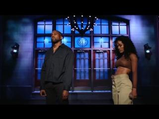 Kanye West_ We Got Love (Live) - SNL 29 09 2018  телешоу Saturday Night Live, Нью-Йорк, США.