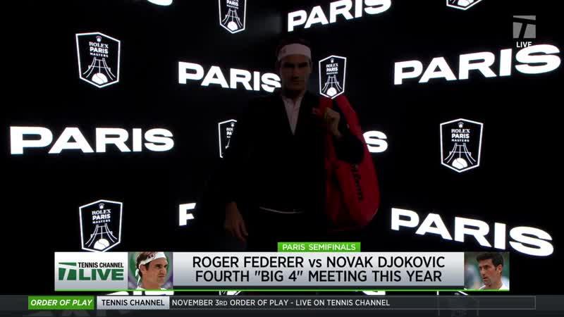ATP Masters 1000 Paris 2018_Федерер_Джокович