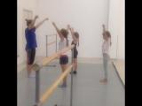 Чир руки и хореография чир-фристайл команда Шторм и инструктор Дарья Немихина
