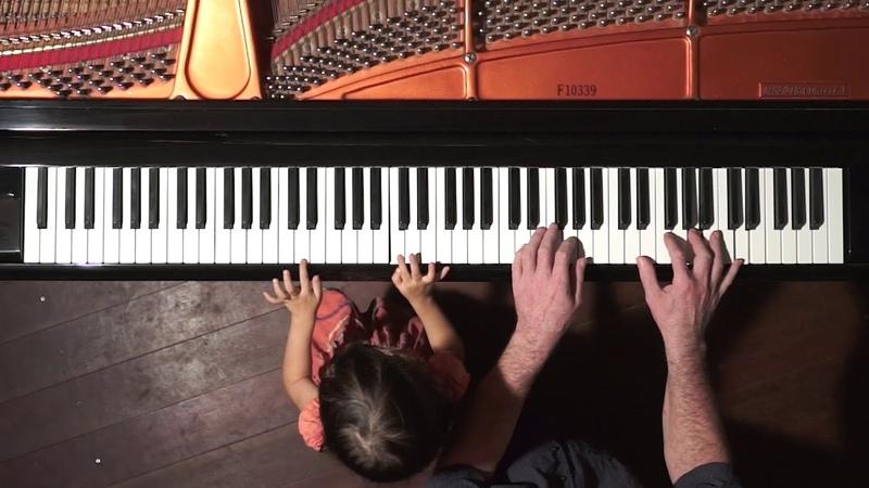 "Handel ""Passacaglia"" Piano Duet - Emilie Dad"