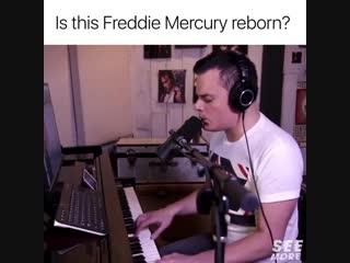 Is this Freddie Mercury reborn?