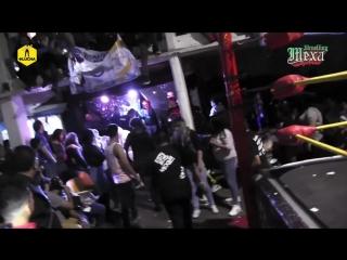 2018.08.04 - Toxin vs. Fly Star (Mask vs. Mask) - Mexa Wrestling