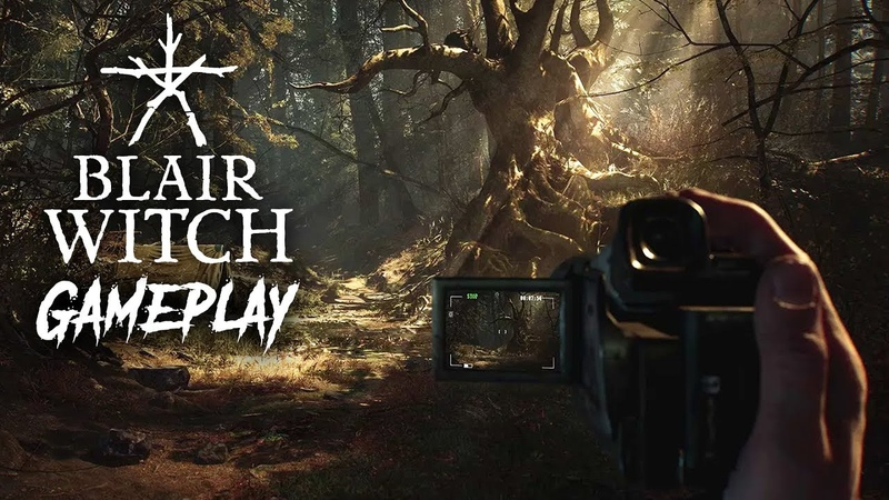 BLAIR WITCH Early Exclusive Gameplay Impressions