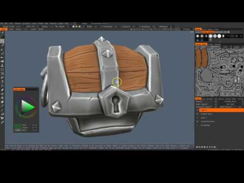 3D Coat baking models for painting