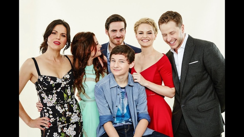 OUAT cast- Jennifer Morrison, Colin O'Donoghue, Lana Parrilla...