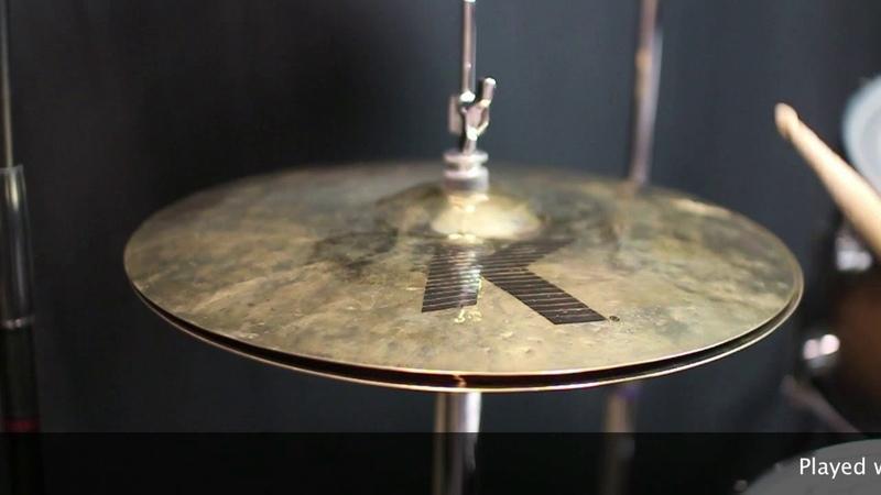 Zildjian 14 K Dark Thin Hi Hats