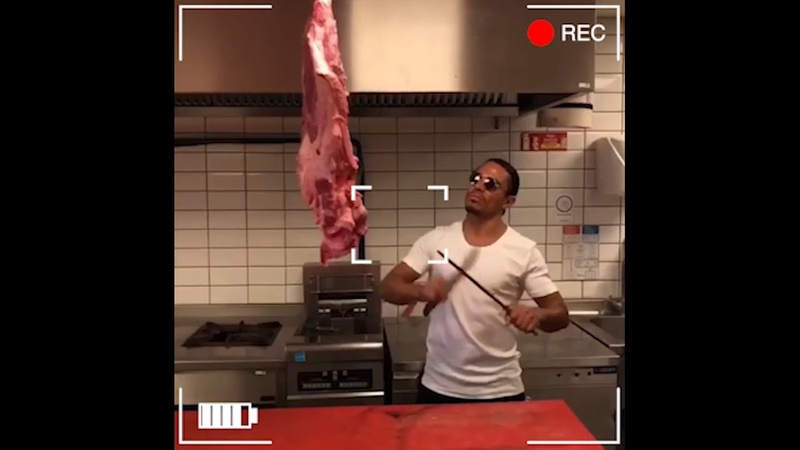 Funny video - Salt Bae asked me to get him on video (very funny video)