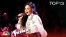 "Chevel Shepherd Covers ""Little White Church"" - The Voice 2018 Live Top 13 Performances"