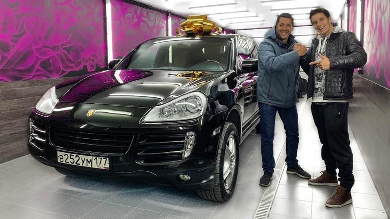 Подарил Porsche - РЕАКЦИЯ Брата и Родителей