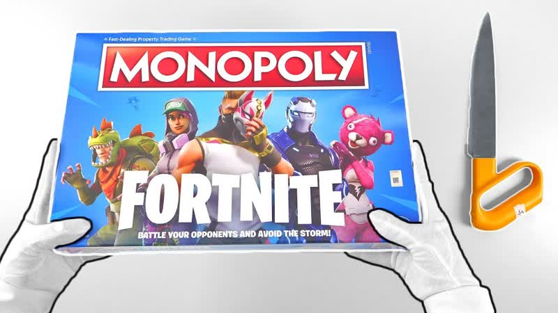 [TheRelaxingEnd] Fortnite Battle Royale MONOPOLY Unboxing Deep Freeze Bundles (PS4, Xbox One, Switch)