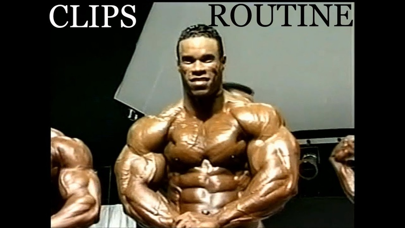 Kevin Levrone Rare 255 pds. Ripped (Clips Routine)