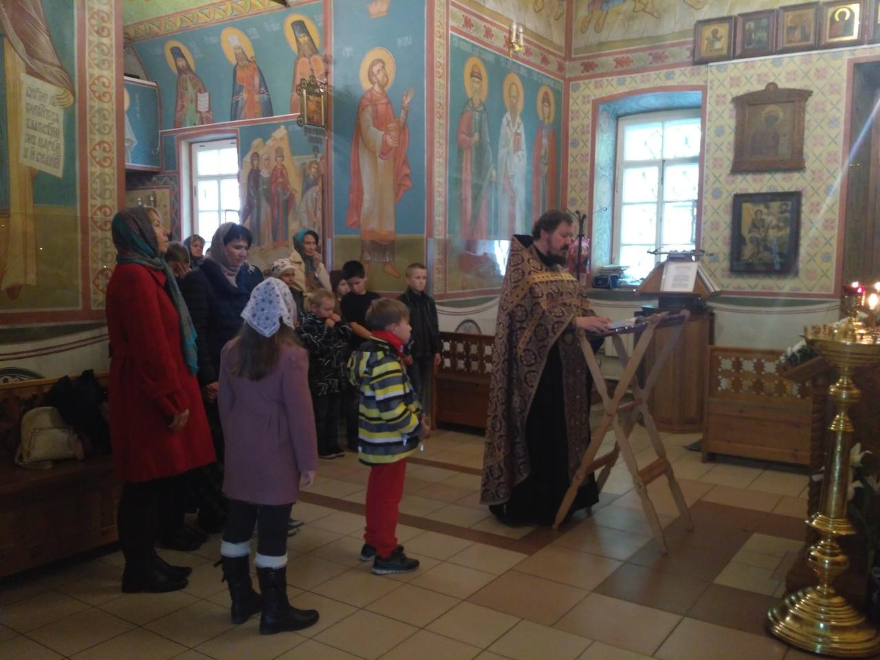 Молебен перед началом учебного года в Воскресной школе