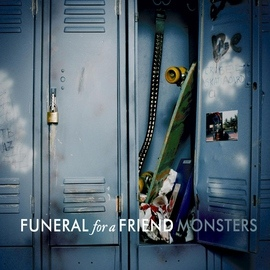 Funeral For A Friend альбом Monsters (UK CD)