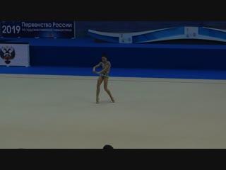 Лала Крамаренко - скакалка (финал многоборья) // Первенство России, Казань