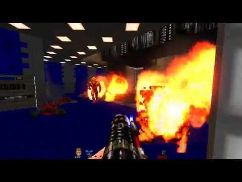 Doom the Way id Did – Lost Episodes | E1M4 Quarantine Zone [Brutal Doom v21 RC1]