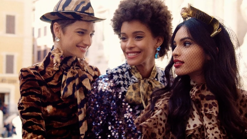 Dolce Gabbana Fall Winter 2018 19 Women Advertising Campaign