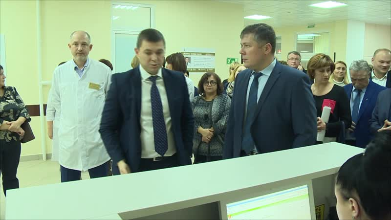 Визит министра здравоохранения МО Д.А. Матвеева