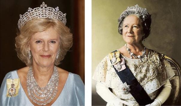 Королевские драгоценности второй жены принца Чарльза. Часть 2 Какие драгоценности Камиллы Паркер Боулс блистают ярче, чем у королевы