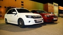 Granta Sport vs Mazda 3 2.0 МТ. ГОНКА. ТАЗЫ или ЯПОНЦЫ !?!?