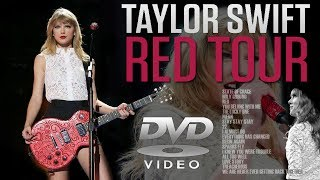 Taylor Swift - RED TOUR (DVD)