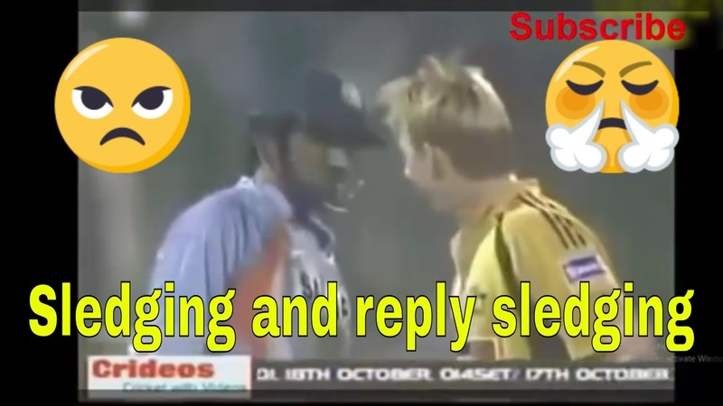 Instant best sledging Reply Moments in Cricket-Sledding in Cricket History