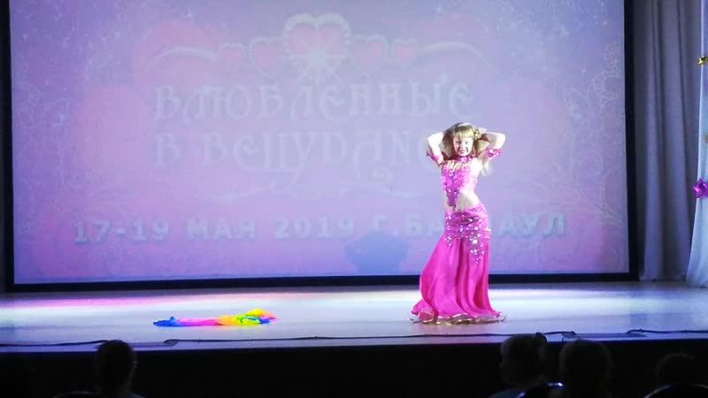 Лукина Елизавета дети классика 10-11 лет Гран При из 22 участниц ❤Влюбленные в Bellydance 17-19мая 2019 г.Барнаул❤